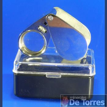 Lupa de bolsillo de 45 mm.