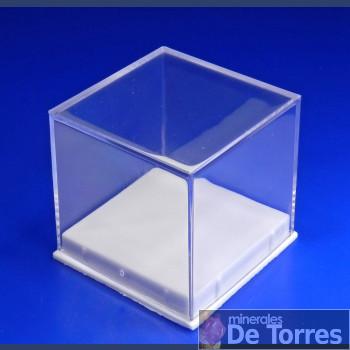 Urna de plástico PVC de 4 cm. 1 unidad.