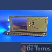 Lupa-Linterna de bolsillo con LED.