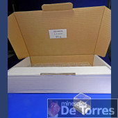 Box plastic PVC 3 cm. 50 pieces.