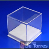 Box plastic PVC 4 cm. 1 piece.