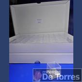 Box plastic PVC 4 cm. 108 pieces.
